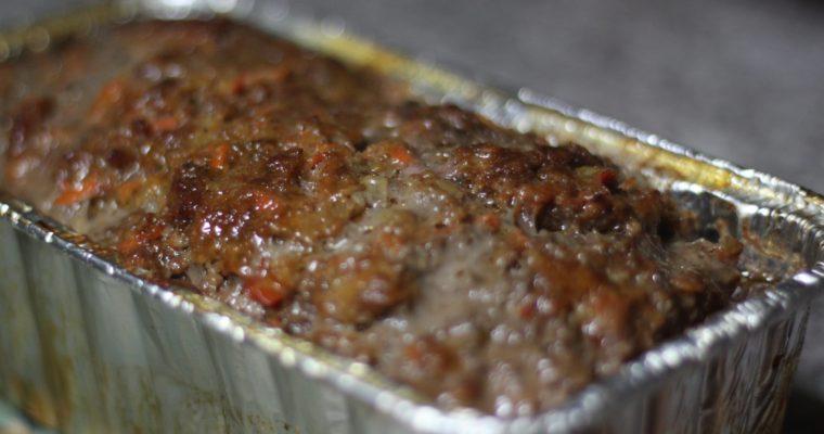 Veggie Garden Meatloaf Recipe