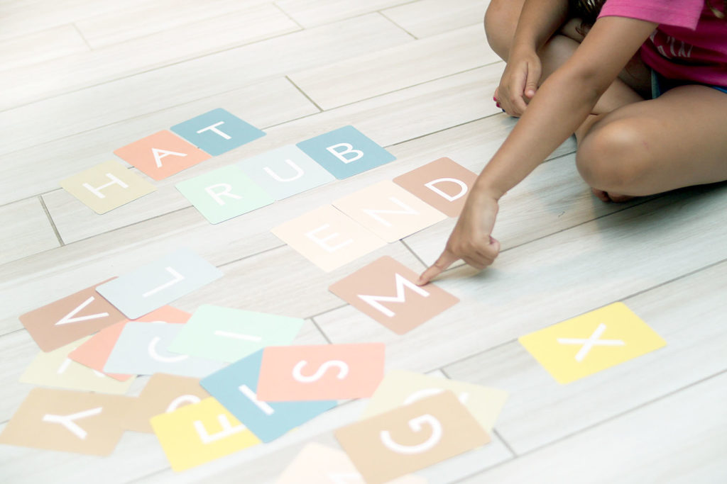alphabet game for kindergarten or first grade - back-to-school prep and school learning activities