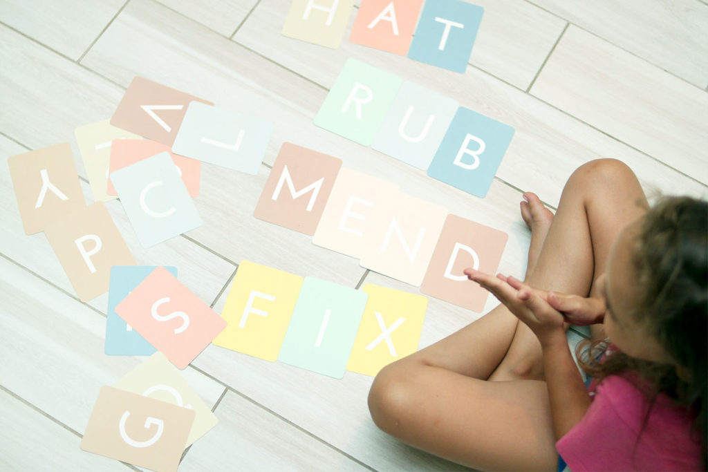 learning letter spelling games for kindergarten or first grade