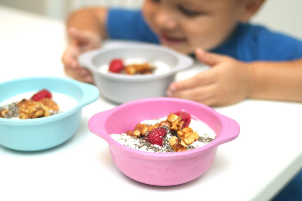 Easy kids meals - Yogurt Bowls