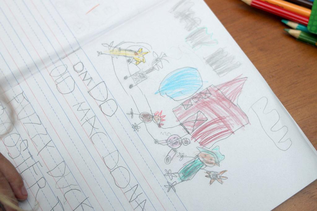 Kindergarten Nursery Rhymes - Illustrating Old Mac Donald