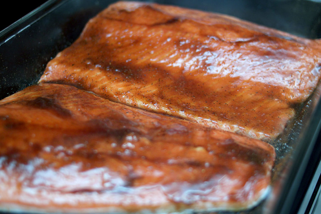 Amazing Salmon marinade recipe