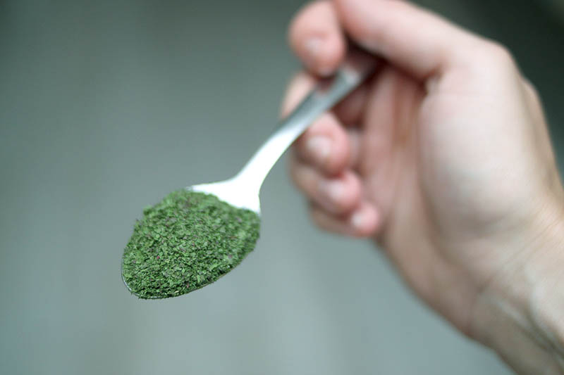 homemade greens powder for nutritional boosts for recipes