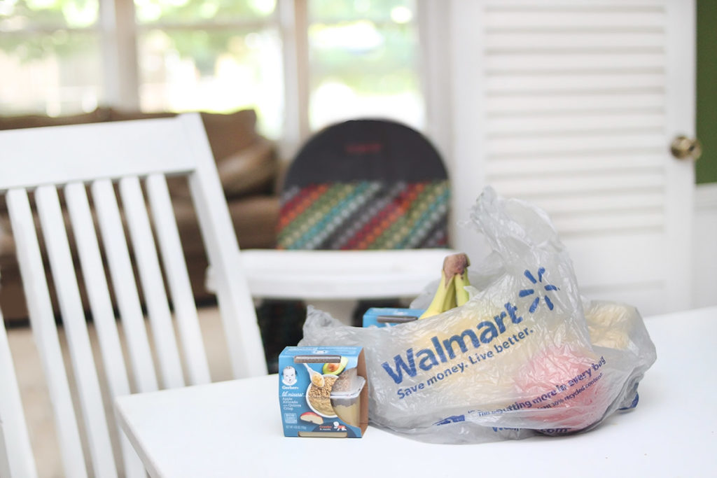 Walmart and Gerber baby food