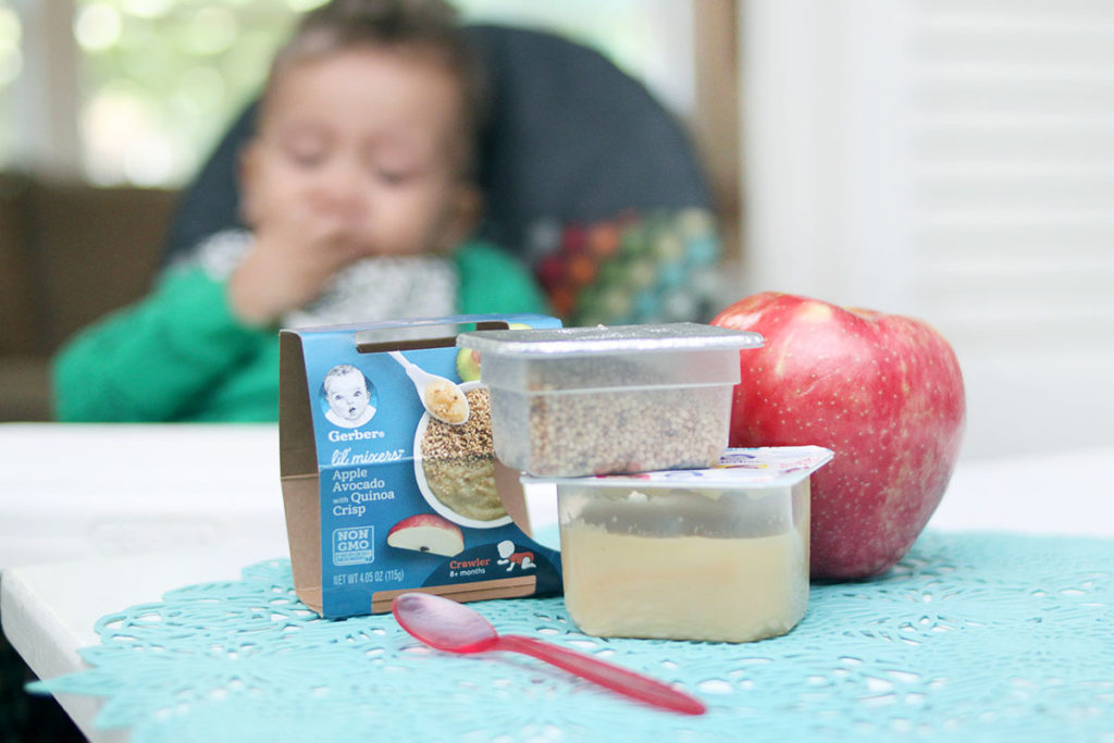 Gerber food for Stage 2 Babies