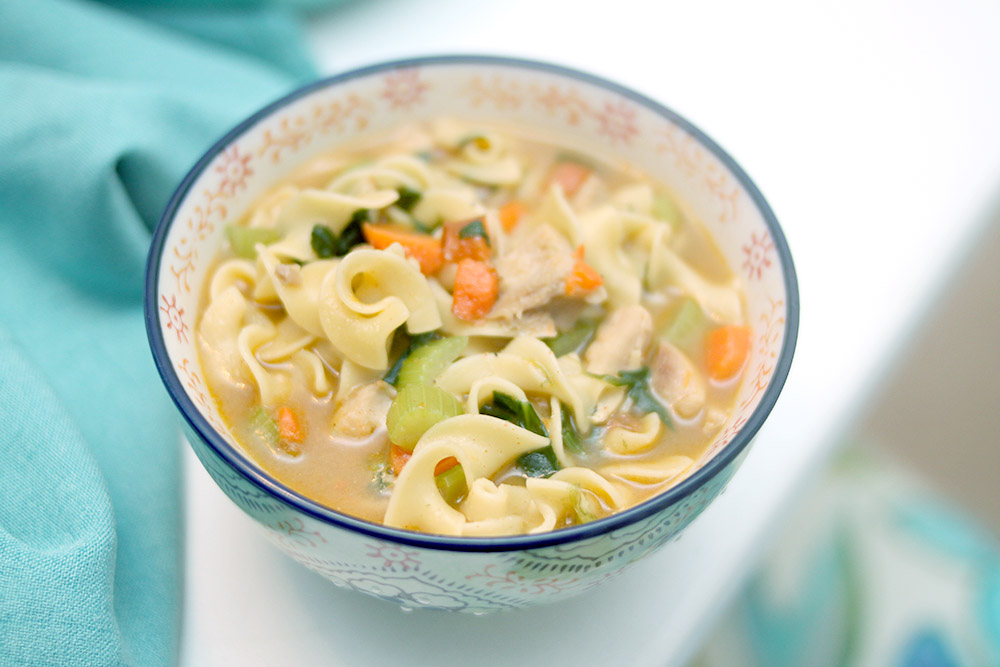 delicious and hearty soup for homemade family dinner