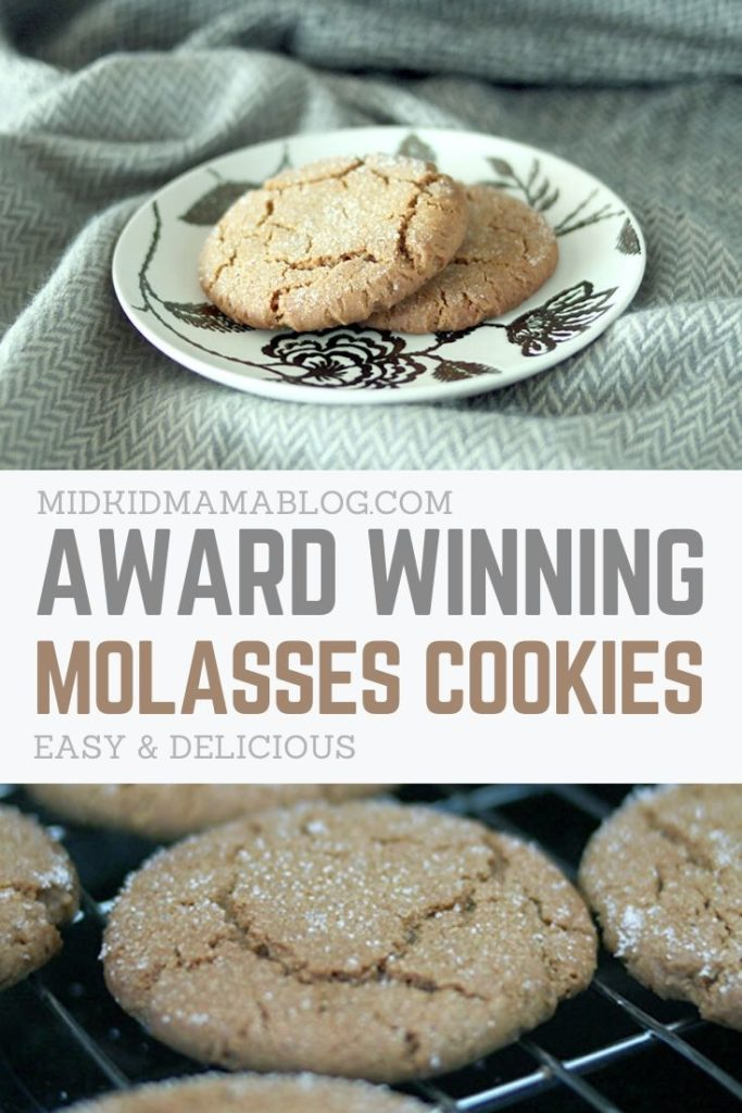 Molasses cookie recipe for the family