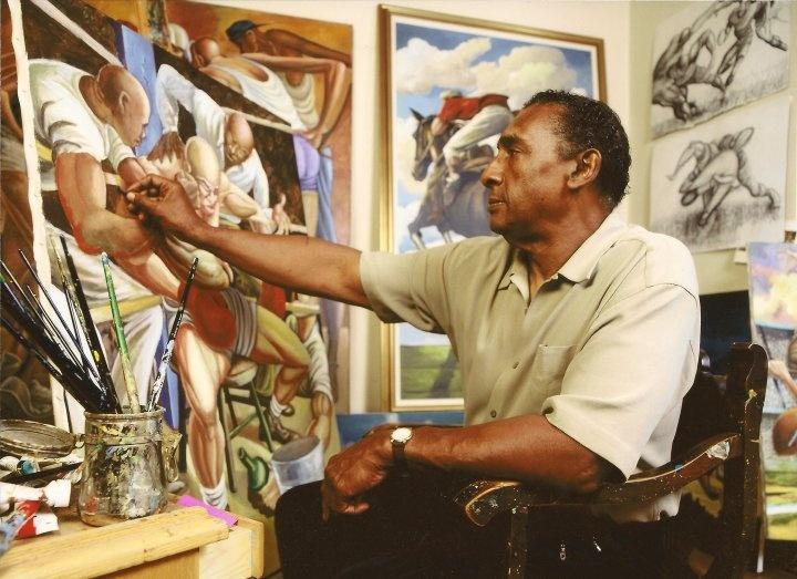 Artist Ernie Barnes